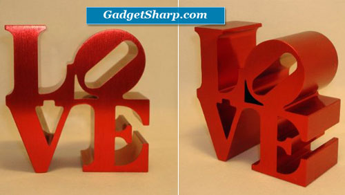 Love, Sculpture Paperweight