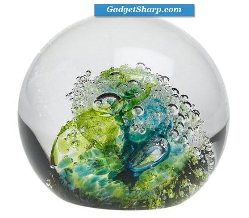 Evolution by Waterford Cosmic Waters Paperweight