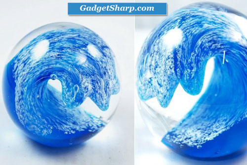 Perfect Surfing Ocean Wave XL Paperweight