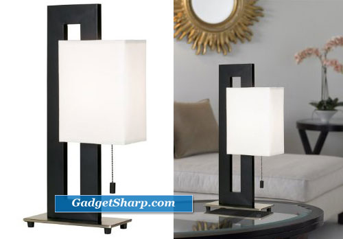 Floating Square Table Lamp