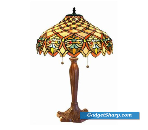 Tiffany-Style Ariel Shade Table Lamp