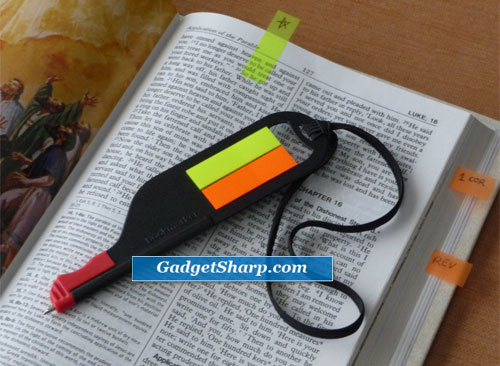 Bookmarker Flag Pen And Bookmark