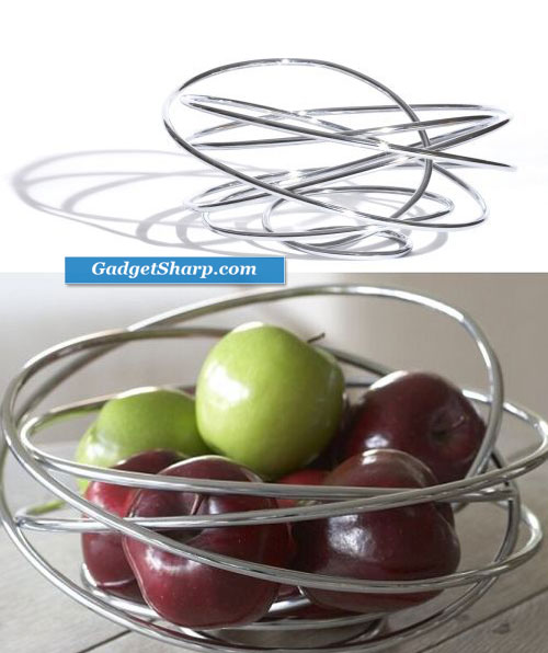 Fruit Bowl, Chrome Steel