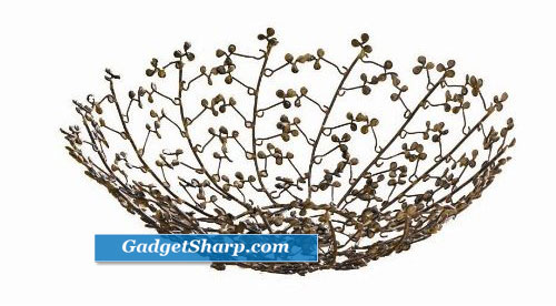 Tag Winter Bouquet Wire Berry Bowl