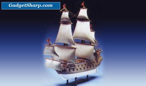 1/130 scale Captain Kidd Pirate Ship