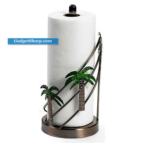 Palm Tree Paper Towel Holder