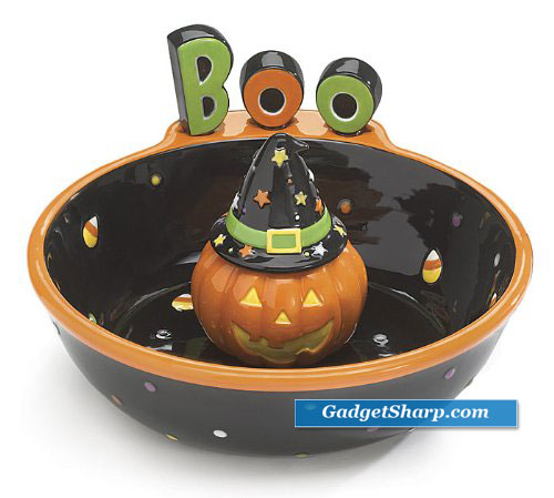 Halloween Jack-O-Lantern Chip and Dip Set Great for Halloween Party