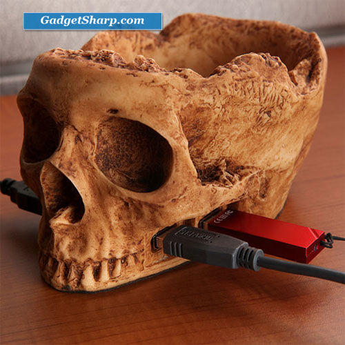 Skull USB Device 4 High-Speed Hub Desk Supplies