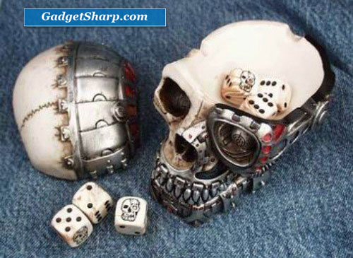 Cybo Skull Dice Holder