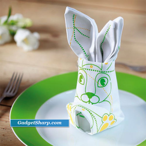 Easter Bunny and Egg Decorations