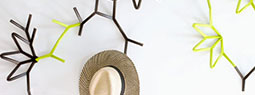 Ivy Coat Hooks: Modular Plant-like Connectable Hook