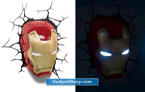 Avengers 3d Wall Art Nightlights For Kids Room Gadget Sharp