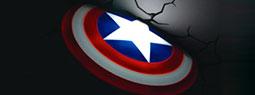 Avengers 3D Wall Art Nightlights for Kids Room