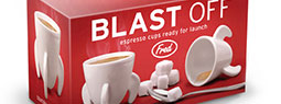 BLAST OFF! Coolest Rocket Shape ESPRESSO CUP