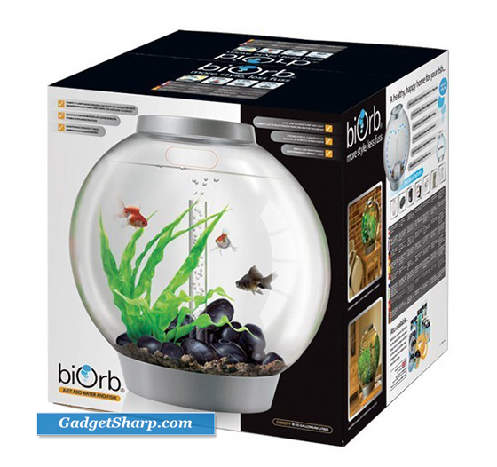 biOrb Aquarium: a Combination of traditional fish bowl and Hi-Tech aquarium